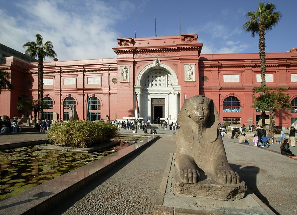 Сокровища Египетского музея в Каире