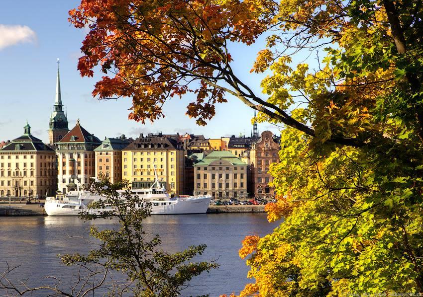 Осенний Стокгольм — чего ждать от поездки в октябре