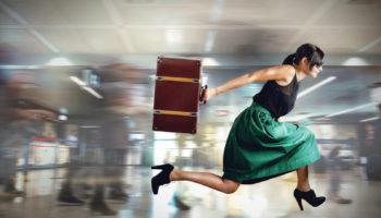 Что необходимо сделать, если вы опоздали на свой рейс