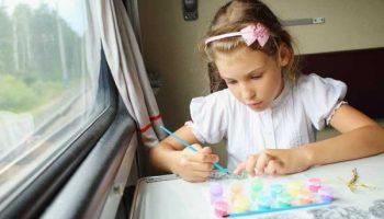 Чем занять детей в долгом путешествии на поезде