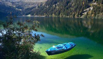 Почему в чистейшем озере Новой Зеландии запрещено купаться