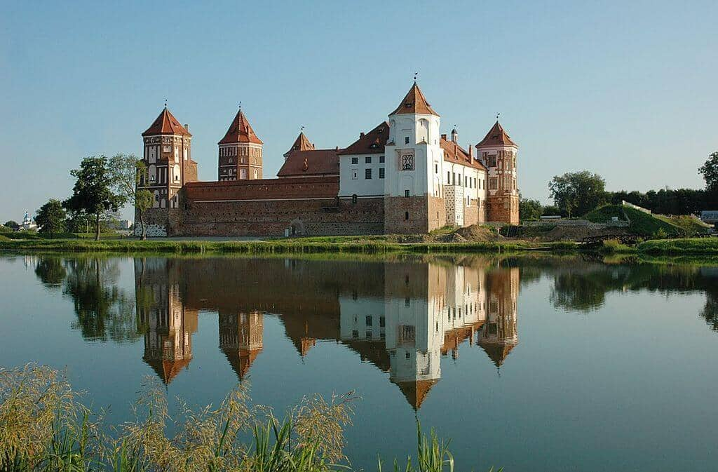 Какие замки есть в Беларуси