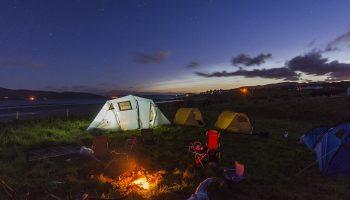 Где можно отдохнуть в палатках в Украине