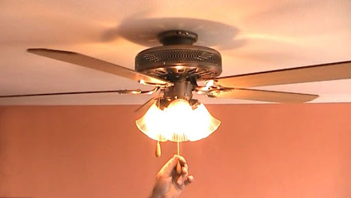Преимущества люстры-вентилятора светильника